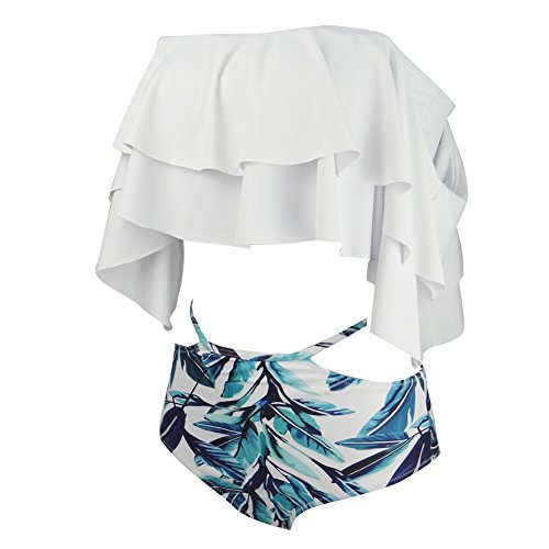 Ruffle Bikini Bathing Suit - 4
