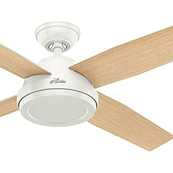 Hunter Fan 52 Inch Contemporary Ceiling Fan Without Light