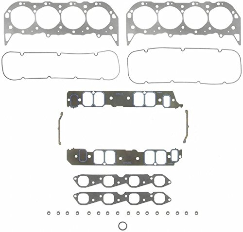 Fel Pro FULL Gasket Set compatible with Mercury Mercruiser Marine 502 8.2 8.2L GEN VI 6 (502 Gen 6 Engine)