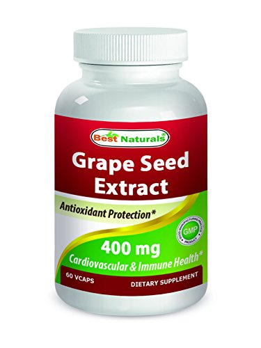 Best Naturals Grape Seed Extract 400 mg 60 Vcaps For Sale