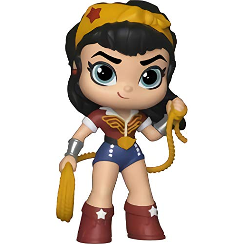 Funko Wonder Woman: DC Bombshells x Mystery Minis Mini Vinyl Figure & 1 Mystery Minis Compatible PET Plastic Graphical Protector Bundle [30784 - B] ()