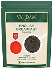 Original English Breakfast Black Tea Leaves (200+ Cups) STRONG, RICH & AROMATIC, Loose Leaf Tea, World's Finest Black Tea Loose Leaf - Brew Hot, Iced Tea, Kombucha Tea, FTGFOP1 Long Leaf Grade, 16oz