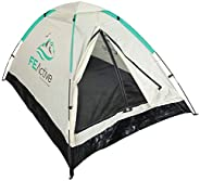 FE Active 2 Person Camping Tent - 2021 Upgraded Design Summer Pop Up Tent 1 to 2 Person Tent Lightweight, Comp