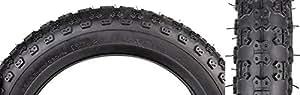 "Sunlite MX3 BMX Tires, 12.5"" x 2.25"", Black/Black"