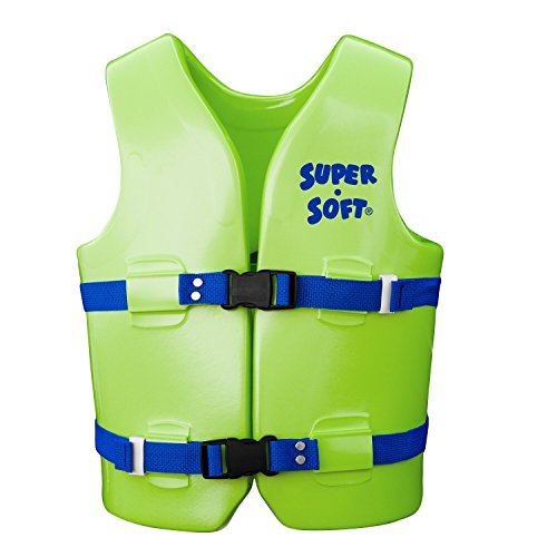 - Medium USCG Approved Child's Vinyl Vest Color: Kool Lime Green