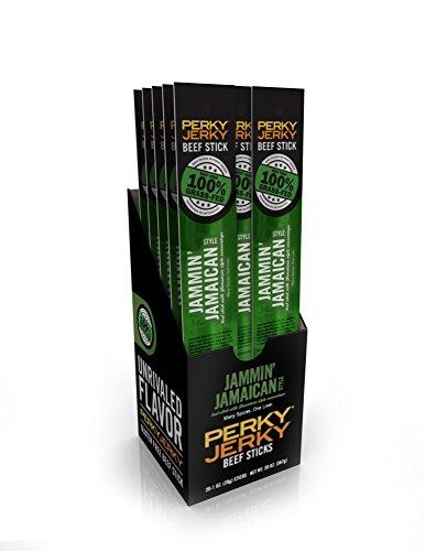 Perky Jerky Grass Fed Jamaican Sticks product image