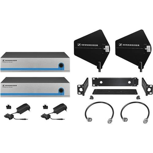 Sennheiser Active Splitter Kit for 8-Receiver System with Directional Remote Paddle Antennas, Includes ASA 1/NT Splitter, A 2003-UHF Antenna, GA 3 Mount by Sennheiser
