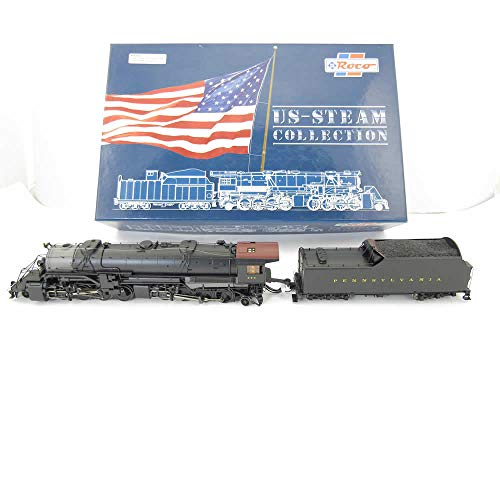 2-8-8-2 HO Scale PRR Steam Engine and Tender Roco Trains