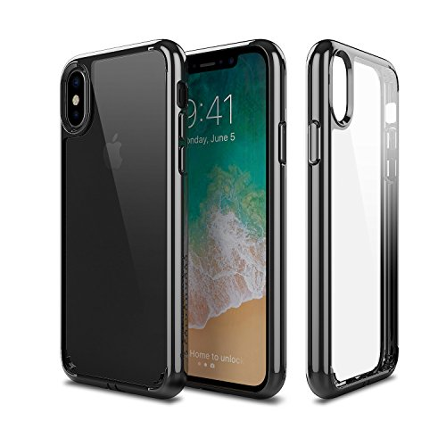 iPhone X Patchworks Pure Shield Series in Black Dual Material German Polycarbonate TPU Extra Corner Air Pocket Air Vent Military Drop Tested Impact Protection Case