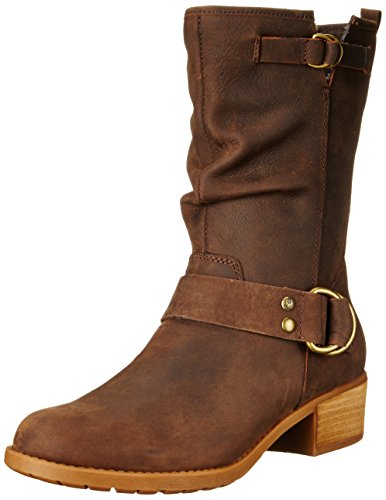 mujer Emelee Dark Overton Botas Brown Hush Puppies zIf5qxP