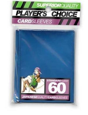 Player's Choice Metallic Blue Sleeves  Standard Size Deck