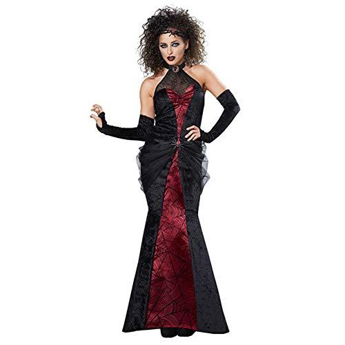 LVLUOYE Halloween, Coaplay Uniform, Gothic Vampire Witch Costume, Spiderman -