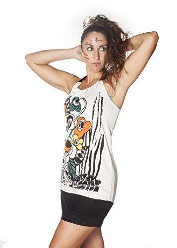 Hakunamatata COMOUNAREGADERA Damen Multicolor Casual Kleid Mehrfarbig 003 0wfqCw