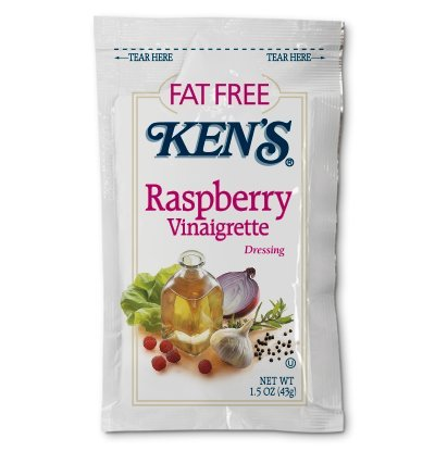 - Kens® Fat Free Raspberry Vinaigrette Dressing (Case of 60)