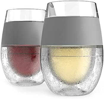 Set of 2 Host Double Wall Insulated Wine Freeze Cooling Cups
