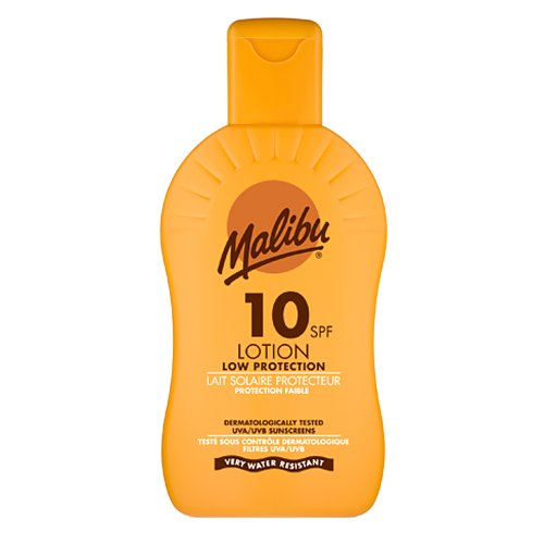 Spf10 Sun Protection Cream (Malibu Sun Lotion SPF10 Low Protection 6.8oz (200ml))