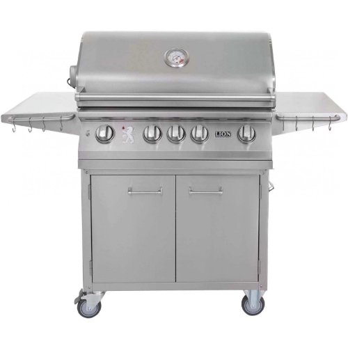 Lion 32 Inch Stainless Steel Propane Gas Grill On Cart For Sale