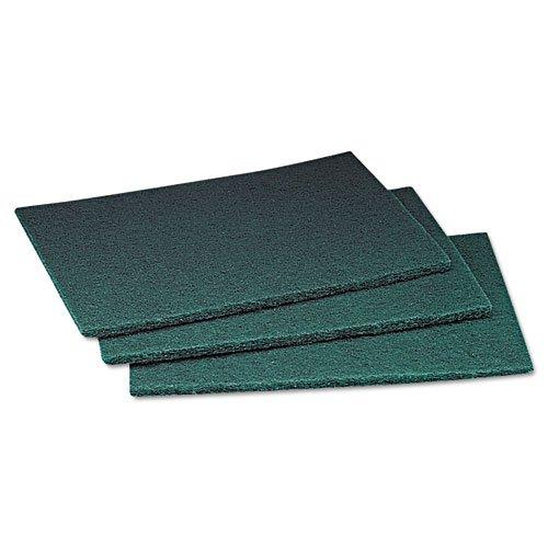 Scotch-Brite PROFESSIONAL - Commercial Scouring Pad, 6 x 9, 60/Carton 08293 (DMi CT