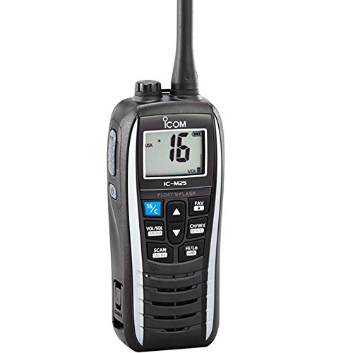 ICOM IC-M25 11 Handheld VHF Radio - White by Icom