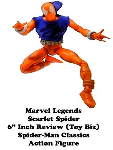 Toy Biz Spider - Review: Marvel Legends Scarlet Spider 6