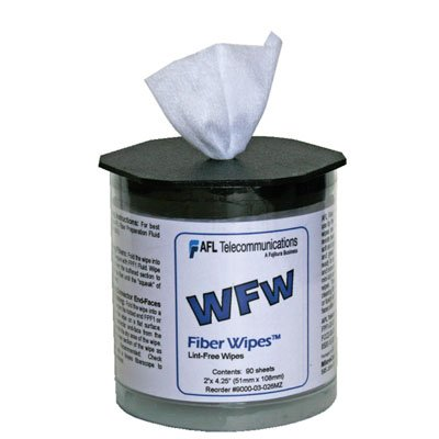 FiberWipes (TM) - 90 wipes per tube