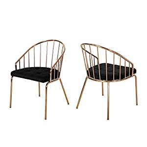 Christopher-Knight-Home-Marcia-Modern-Velvet-Dining-Chair-with-Stainless-Steel-Frame-Set-or-2-Black-and-Rose-Gold