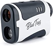 Blue Tees Golf Series 1 Sport Slope Laser Rangefinder for Golf 650 Yards Range - Slope Measurement, Flag Lock