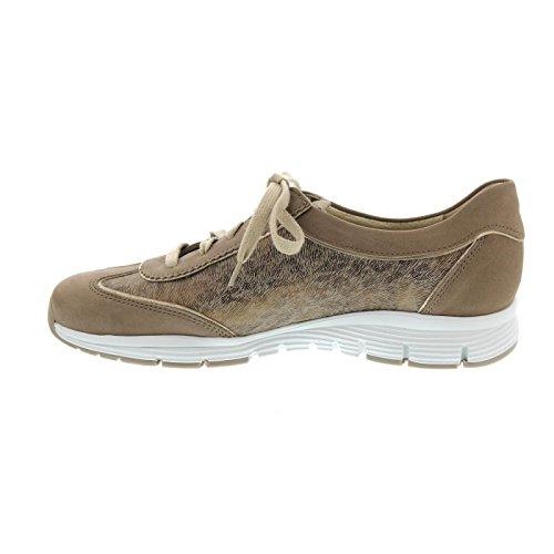 Mephisto Yael - Zapatos de cordones de Piel para mujer gris