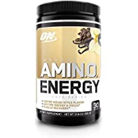Optimum Nutrition Amino Energy Preworkout and Essential Amino Acids with Green Tea and Green Coffee Extract, 30 Servings