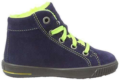 Superfit MOPPY - zapatillas de running de piel Bebé-Niñas azul - Blau (OCEAN KOMBI 81)
