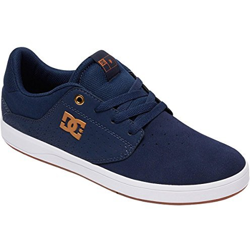 DC Men's Plaza TC Skate Shoe Navy White buy cheap clearance store free shipping pre order cheap countdown package wiki sale online discount with credit card vjdxUR