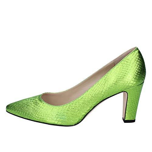 Textil Salón 18 De Mujer Zapatos Verde Kt UqzwFA