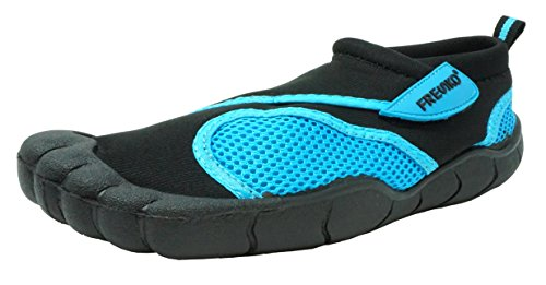 Fresko Mens Turquoise and Womens With Shoes Mens Water Toes Fresko dwzxv4Z