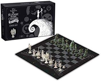 Horror-Shop Juego De Ajedrez Nightmare Before Christmas Collectors: Amazon.es: Juguetes y juegos