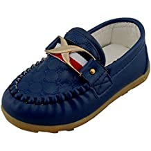 Majony Durable fashion Boy's Girl's Classic Slip-on Loafers Oxford Flat Shoes
