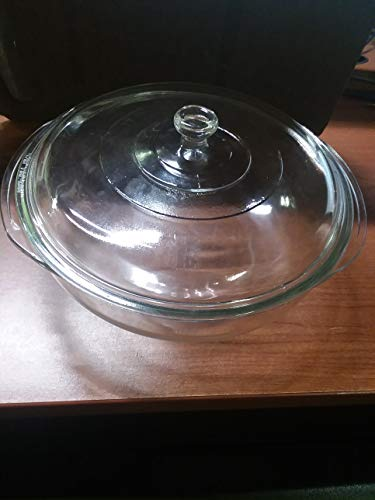 Pyrex Model 026 3 Quart Clear Mixing Bowl with Lid