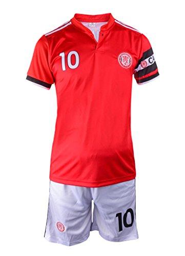quality design 07898 42b18 Zlatan IBRAHIMOVICH #10 Youth Soccer Jersey, Shorts, Ball Premium Gift Kids  Boys Girls Size 5