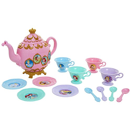 (Disney Princess Royal Story Time Tea Set Pretend Play Toys)