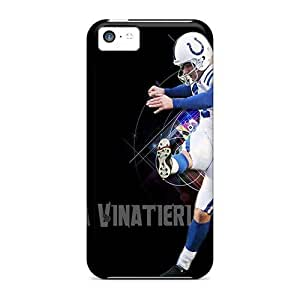 Protective Hard Cell-phone Case For Iphone 5c (qoV10159HydJ) Provide Private Custom Realistic Indianapolis Colts Pictures