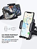 Mpow 051 Car Phone Mount, CD Slot Car Phone Holder, Car Mount with Three-Side Grips and One-Touch Design Compatible iPhone 11/11Pro/11Pro Max/Xs MAX/XR/XS/X/8/8Plus, Galaxy S10/S10+/S10e/S9/S9+/N9/S8