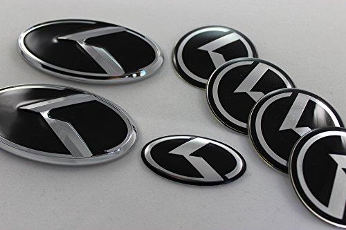 kia-forte-koup-7pcs-chrome-k-logo-vip-speed-badge-emblem-trunk-grille-lid-tail-gate-front-rear-steer