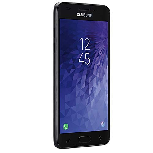Samsung Galaxy J3 2018 (16GB) J337A - 5.0'' HD Display, Android 8.0, 4G LTE AT&T Unlocked GSM Smartphone (Black)