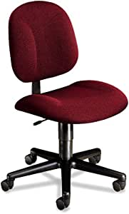 HON 7901AB62T Every-Day Series Swivel-Back Pivot Task Chair, Olefin Fabric, Burgundy