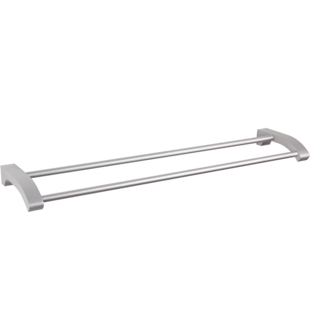 low-cost Space aluminum double Towel Bar/towel rack/Towel shelf / Towel Bar-C