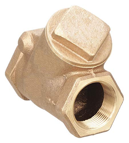 (Milwaukee Valve 509Y Series Bronze Swing Check Valve, Class 125, 3/4