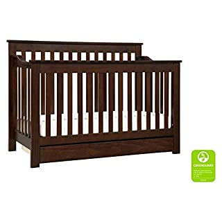 DaVinci Piedmont 4-in-1 Convertible Crib with Toddler Bed Conversion Kit in Espresso | Greenguard Gold Certified (B000IHUT1K) | Amazon price tracker / tracking, Amazon price history charts, Amazon price watches, Amazon price drop alerts