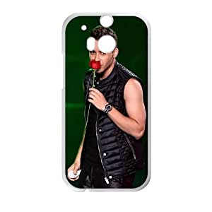 HTC One M8 Cell Phone Case White Prince Royce Phone cover U8494163
