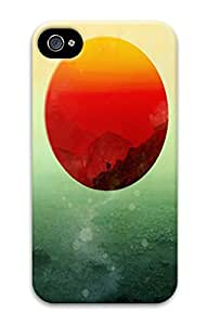 Reassurance 3D Hard Plastic Case for iphone 4/4s (Art Painting) -70912