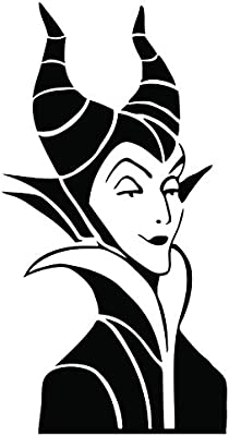 Maleficent Vinyl Sticker Car Laptop Cell Mac Decal Macbook Pro Air Mac Decal 5 5 Inch 5 5 Inch