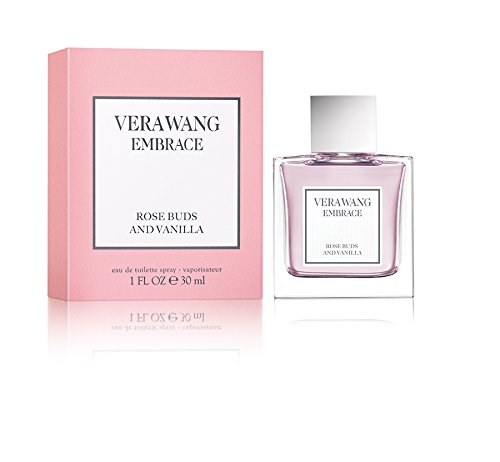 - Vera Wang Embrace Eau de Toilette Rose Buds and Vanilla Scent 1 Fluid Oz. Women's Cologne Romantic, Floral and Warm Fragrance